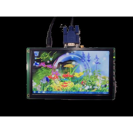 کیبرد درایور برد تصویری با ورودی VGA+HDMI مخصوص برد رزبری، نانو پای، بیگل بن و ...- کویرالکترونیک