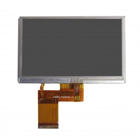 السیدی 4.3 lcd اینچ با تاچ اسکرینtft 4.3(new 2013) - کویرالکترونیک
