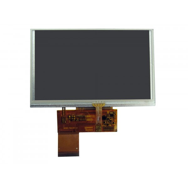 TFT LCD 5 inch whit touch 800x480-کویرالکترونیک