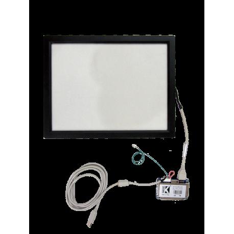 تاچ 15.0 اینچ صنعتی با فریم و برد رابط -کویرالکترونیک