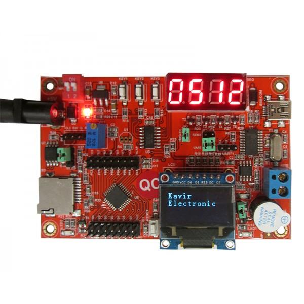 برد stm8 استفاده شده در اموزش- کویرالکترونیک