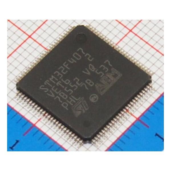 میکروکنترلر stm32f407 VET6 /اورجینال -New and original+گارانتی -کویرالکترونیک