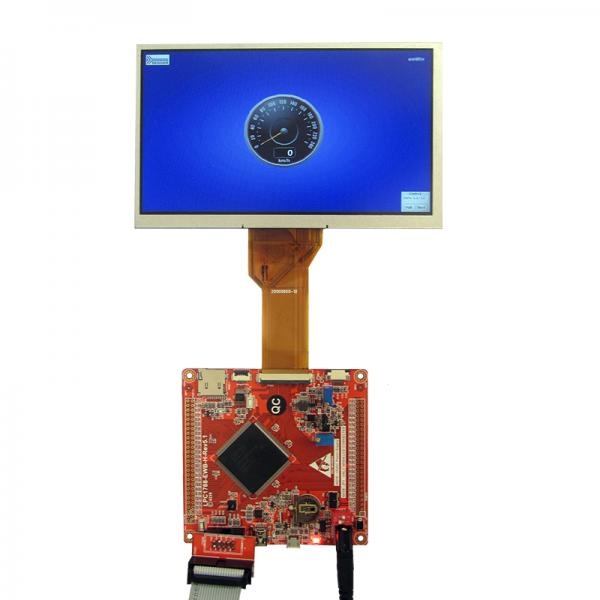 برد کاربردی و حرفه ای LPC1788 با ساپورت tft7.0 -10.1 اینچ 50 پین و emwin پورت شده(فول ) ورژن5.1 جدید- کویرالکترونیک