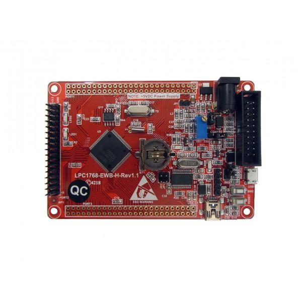 برد آموزشی کاربردی LPC1768 مدل ewb1768-rev1.1 کویرالکترونیک