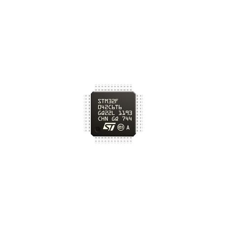 میکروکنترلر STM32F042C6T6 اورجینال -New and original+گارانتی
