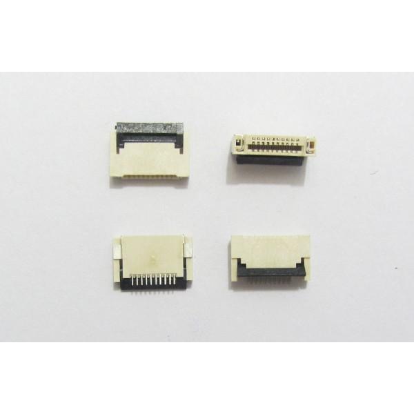 کانکتور اهرمی FPC 10 PIN 0.5mm Top Bottom Connector