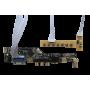 کیبرد برد بسیار کاربردی درایور برد تصویری با ورودی VGA+HDMI+AV+USB لوگو دار
