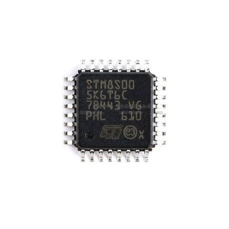 میکروکنترلر STM8S005K6T6C اورجینال-New and original+گارانتی کویرالکترونیک
