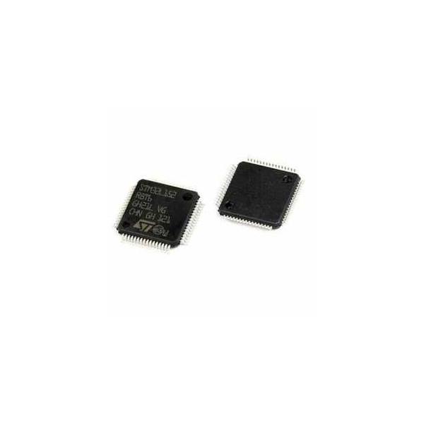 میکروکنترلر STM8L152R8T6 اورجینال-New and original+گارانتی کویرالکترونیک