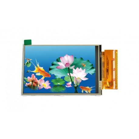 السیدی 3.5 اینچ TFT LCD 3.5 inch with touch- HD 320x480- parallel - ILI9486L - کویرالکترونیک