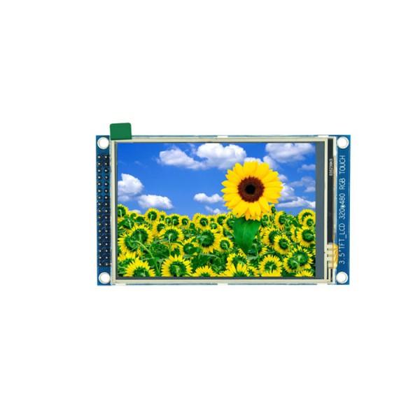 ماژول 3.5 اینچ با تاچ 3.5inch LCD display Module, 320x480- HD - Parallel - ILI9486L - کویرالکترونیک
