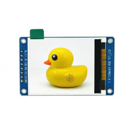 ماژول 1.8 اینچ 1.8inch LCD display Module, 128x160 SPI - ST7735 - کویرالکترونیک
