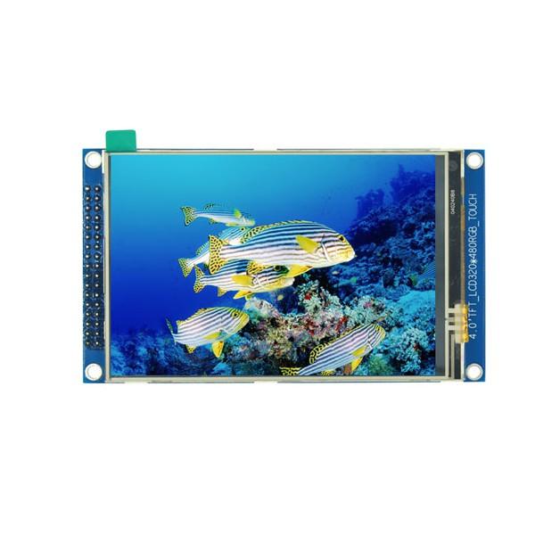 ماژول با تاچ 4.0 اینچ 4inch LCD display Module With Touch, 320x480-HD - Parallel - ILI9486L - کویرالکترونیک