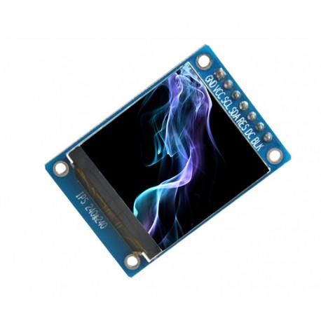 ماژول 1.3 اینچ 1.3inch LCD display Module IPS Screen, 240x240 SPI - ST7789- کویرالکترونیک