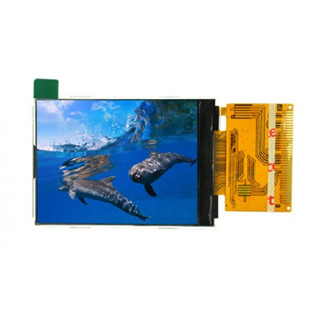 السیدی 2.4 اینچ با تاچ TFT LCD 2.4 inch with touch -240x320 Parallel - ILI9341- کویرالکترونیک