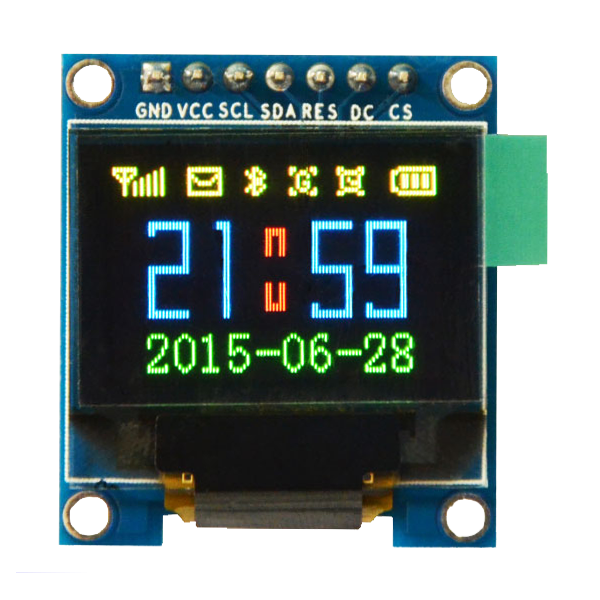 OLED HD 0.95 inch OLED Display Color Module SPI / SSD1331 / 65536 colors -کویر الکترونیک