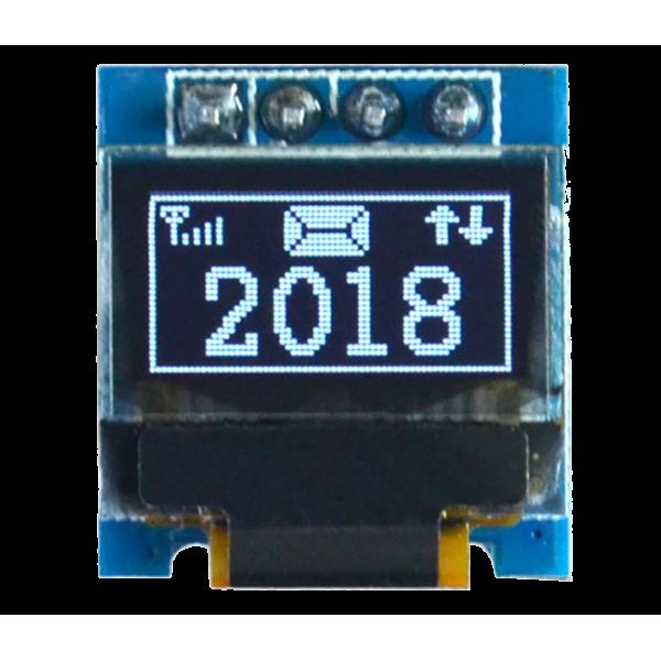 OLED 0.49 inch OLED Module White IIC / SSD1306 -کویر الکترونیک