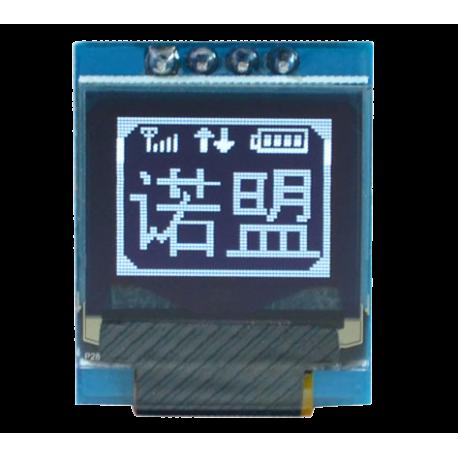 OLED 0.66 inch OLED Module White 64x48 IIC / SSD1306 -کویر الکترونیک