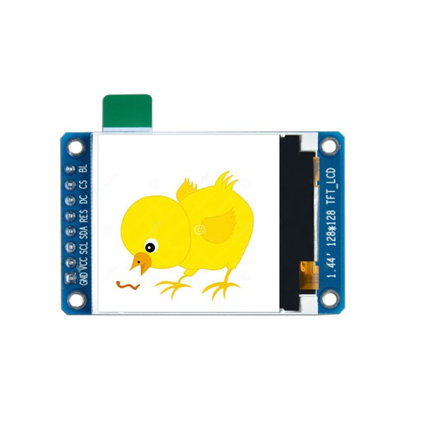 ماژول 1.44 اینچ 1.44inch LCD display Module, 128x128 SPI - ST7735S -کویر الکترونیک