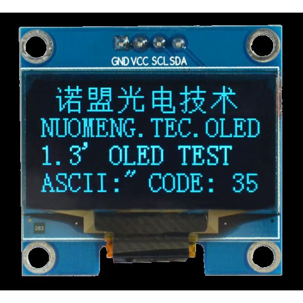 OLED 1.3 inch OLED Module Blue 128x64 IIC / SH1106 -کویر الکترونیک