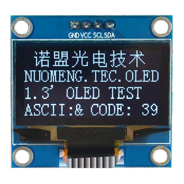 OLED 1.3 inch OLED Module White 128x64 IIC / SH1106 -کویر الکترونیک