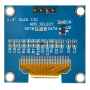 OLED 1.3 inch OLED Module White 128x64 IIC / SSH1106 -کویر الکترونیک
