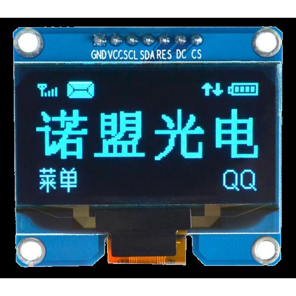 OLED 1.54 inch OLED Module Blue 128x64 IIC SPI / SSD1309 -کویر الکترونیک