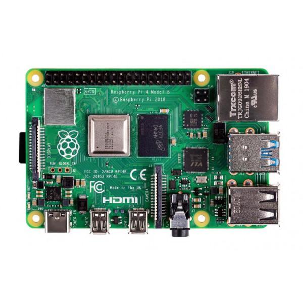 Raspberry Pi 4 (2GB RAM) Made in UK برد رزبری پای 4 با 2 گیگ رم - کویرالکترونیک