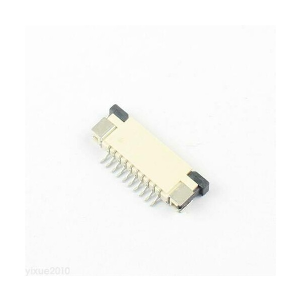 کانکتور FPC 10 PIN 1mm Top Connect -کویر الکترونیک