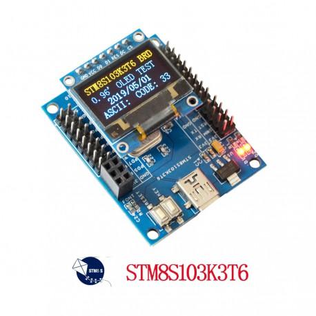 برد STM8S103K3T6C core board کویرالکترونیک