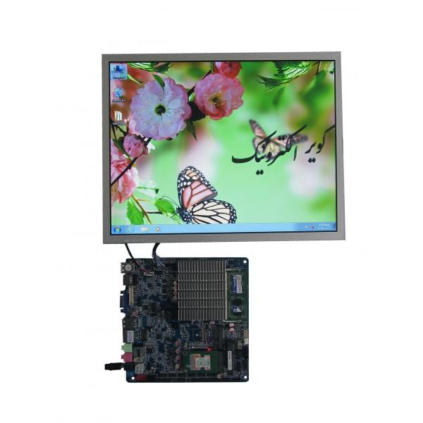 السیدی 15 اینچ hm150x01-102 lcd 15.0 inch - با رزولوشن 1024*768 - کاملا نو واورجینال