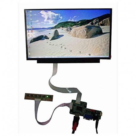 درایوربرد تصویریEDP با ورودی HDMI,VGA مخصوص پنل 30پین - eDP HDMI VGA Audio LCD Controller Board