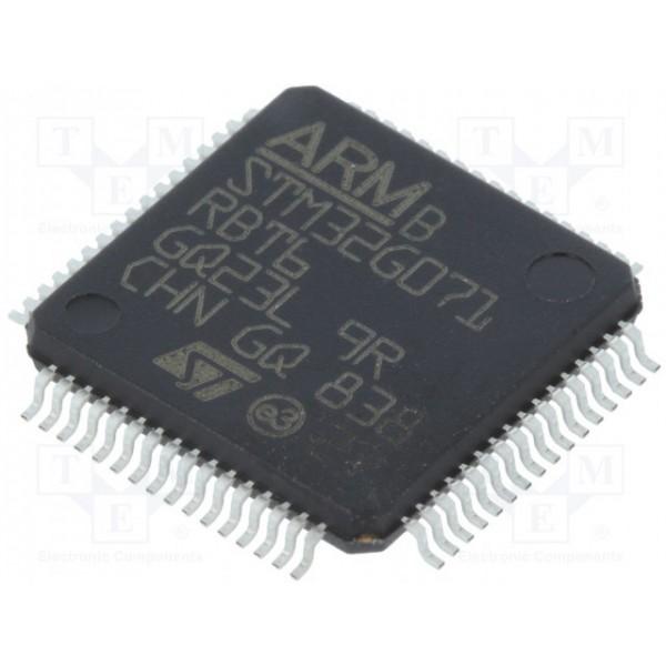 میکرو کنترلر STM32G071RBT6- اورجینال - New and original+گارانتی کویرالکترونیک