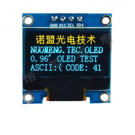 oled 0.96 inch OLED display module 128x64 ssd1306 IIC / Yellow&Blue -کویرالکترونیک