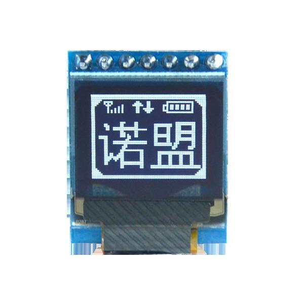 OLED 0.66 inch OLED Module Blue 64x48 IIC SPI / SSD1306 -کویر الکترونیک