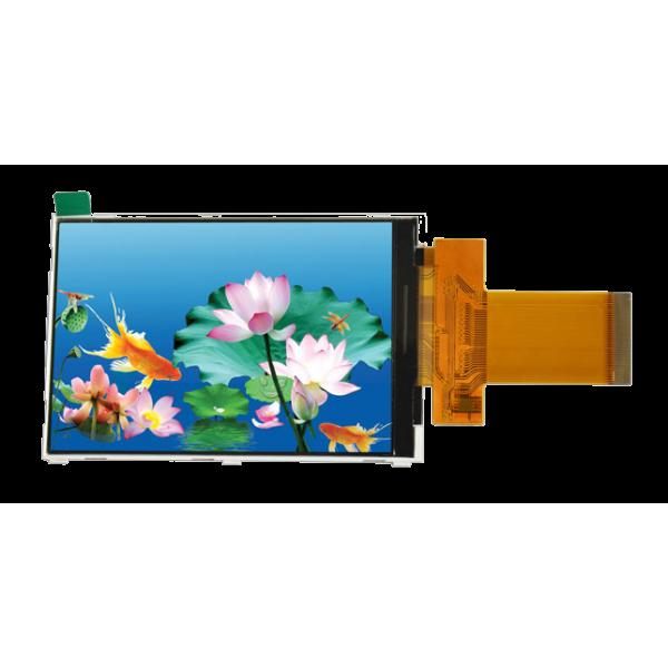 السیدی 3.5 اینچ با تاچ TFT LCD 3.5 inch With Touch - HD-320x480 - parallel / SPI- ILI9486L - کویرالکترونیک