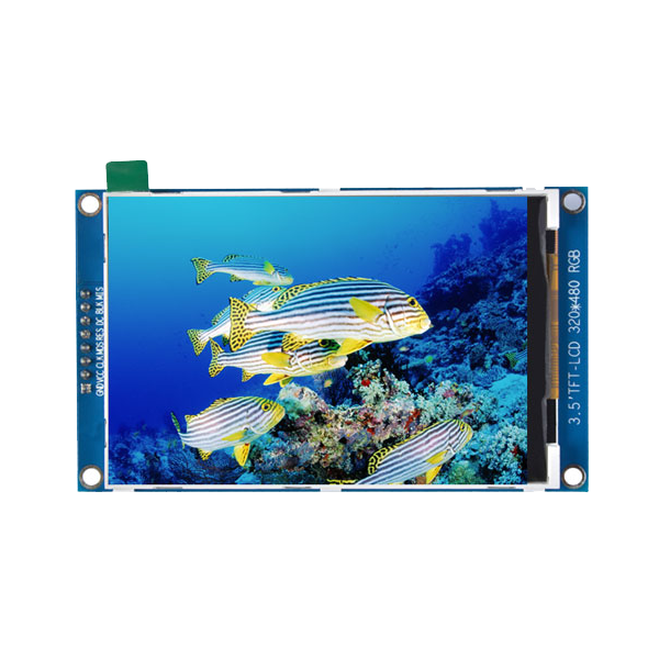 ماژول 3.5 اینچ بدون تاچ 3.5inch LCD display Module, 320x480- HD - SPI - ILI9486L کویرالکترونیک