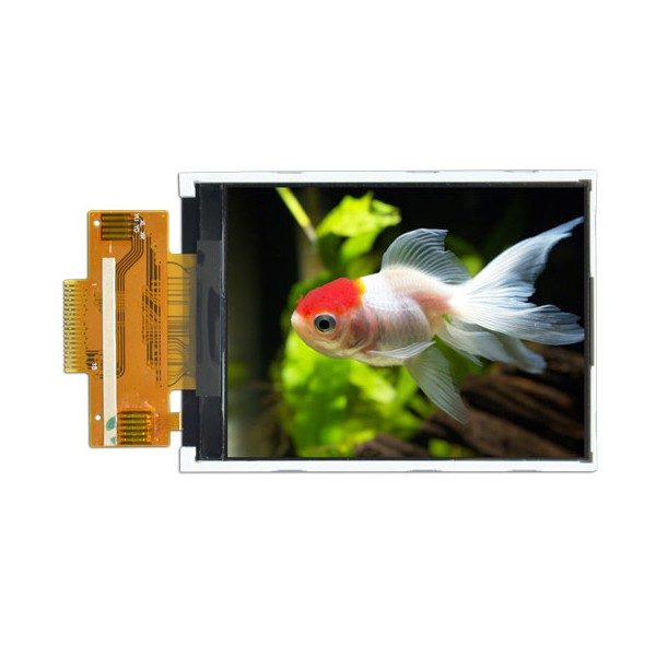السیدی 2.8 اینچ TFT LCD 2.8 inch - HD-240x320 Without Touch - ILI9341 - کویرالکترونیک