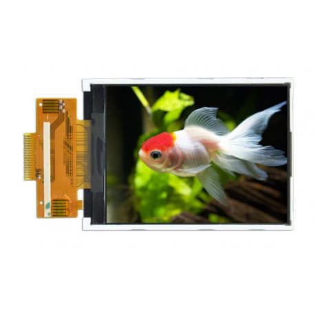 السیدی 2.8 اینچ TFT LCD 2.8 inch - HD-240x320 With Touch - ILI9341 - کویرالکترونیک