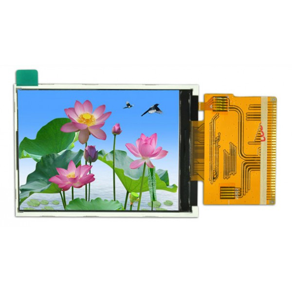 السیدی 2.8 اینچ TFT LCD 2.8 inch Without Touch-HD-240x320-Parallel - ILI9341 - کویرالکترونیک