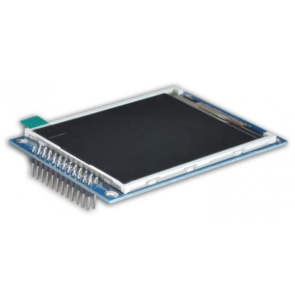 ماژول 2.8 اینچ بدون تاچ 2.8inch LCD display Module, 240x320 HD - Parallel - ILI9341 - کویرالکترونیک