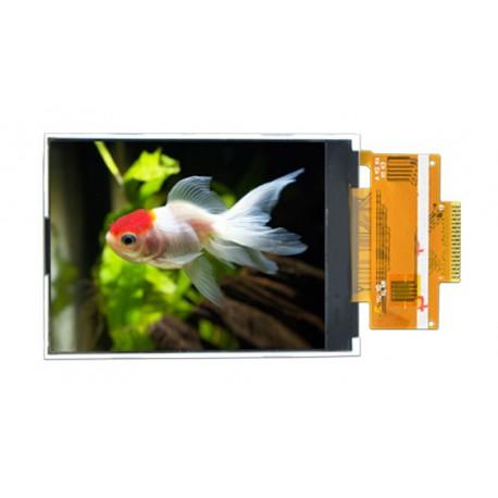 السیدی 2.4 اینچ بدون تاچ TFT LCD 2.4 inch without touch, 240x320 SPI - ILI9341 - کویرالکترونیک