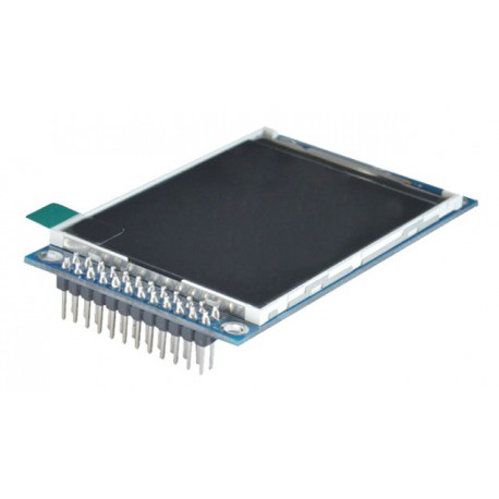 ماژول 2.4 اینچ بدون تاچ 2.4inch LCD display Module, 240x320 - Parallel - ILI9341 - کویر الکترونیک