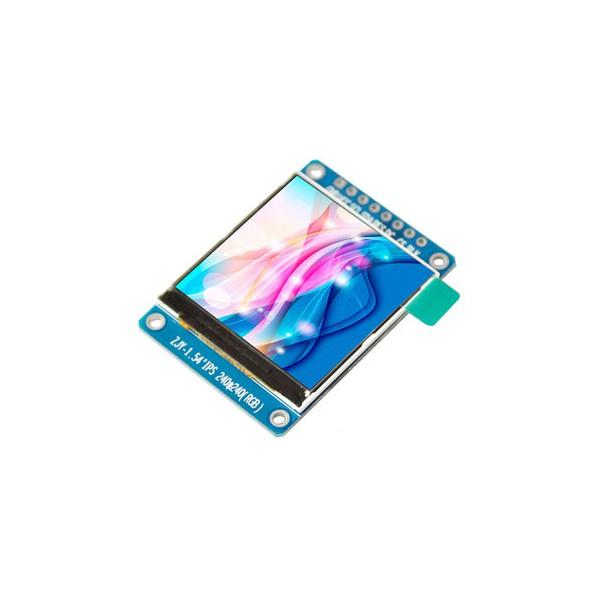 ماژول 1.54 اینچ 1.54inch LCD display Module, 240x240 SPI - ST7789 - کویرالکترونیک