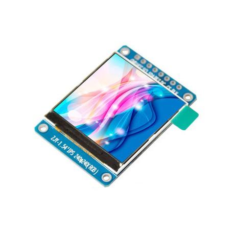ماژول 1.54 اینچ 1.54inch LCD display Module, 240x240 - ST7789-کویر الکترونیک