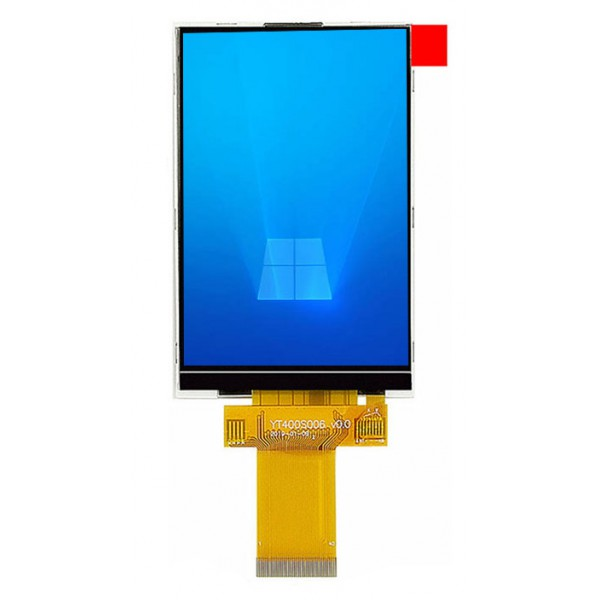 السیدی 4.0 اینچ TFT LCD 4 inch - 320x480 Without Touch - 3 Line-SPI/4 Line-SPI/8bit/16bit interface - ST7796S - کویرالکترونیک