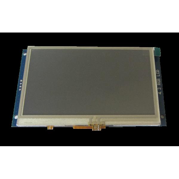 ماژول السیدی 4.3 اینچ با تاچ مقاومتی رزولیشن 272*480 - کویر الکترونیک