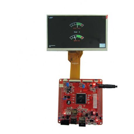 برد کاربردی stm32h743iit6 ساپورت السیدی 3.6 تا 9.0 اینچ- کویرالکترونیک