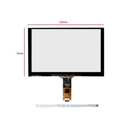 تاچ خازنی 5.0 اینچ 6پین مدل - touch 5inch gt911