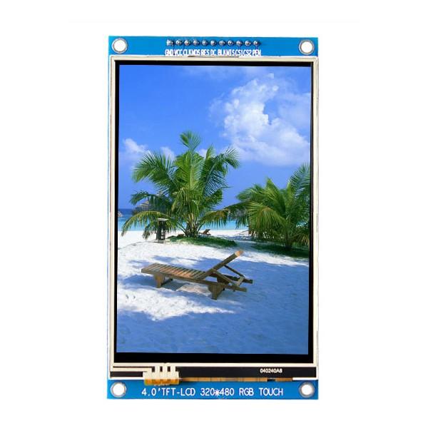 ماژول با تاچ 4.0 اینچ 4inch LCD display Module With Touch, 320x480- HD - SPI - ST7796S - کویر الکترونیک